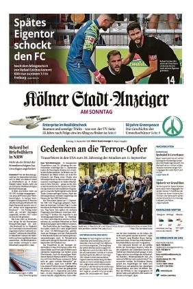 Kölner Stadt-Anzeiger / Rhein-Sieg-Anzeiger (12.09.2021)