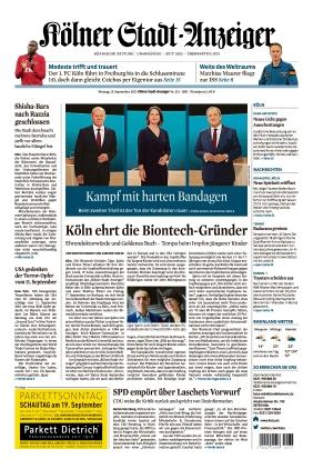 Kölner Stadt-Anzeiger (13.09.2021)