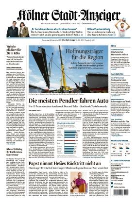 Kölner Stadt-Anzeiger (16.09.2021)