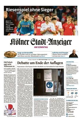 Kölner Stadt-Anzeiger (19.09.2021)