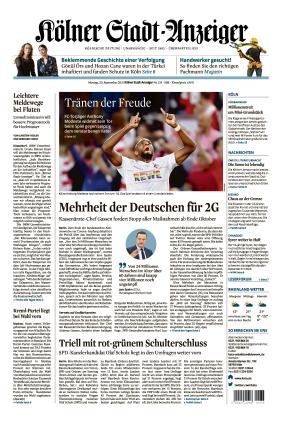 Kölner Stadt-Anzeiger (20.09.2021)
