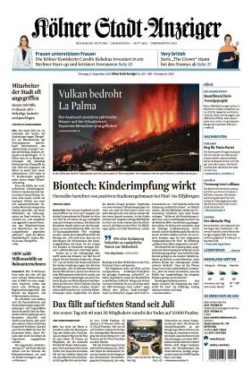 Kölner Stadt-Anzeiger (21.09.2021)