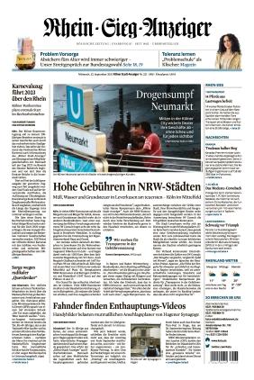 Kölner Stadt-Anzeiger / Rhein-Sieg-Anzeiger (22.09.2021)