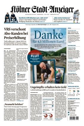 Kölner Stadt-Anzeiger (23.09.2021)