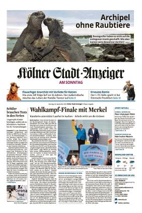 Kölner Stadt-Anzeiger (26.09.2021)