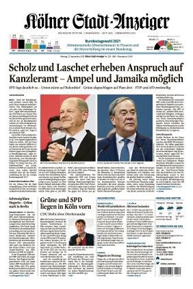 Kölner Stadt-Anzeiger (27.09.2021)