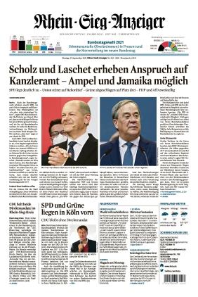 Kölner Stadt-Anzeiger / Rhein-Sieg-Anzeiger (27.09.2021)