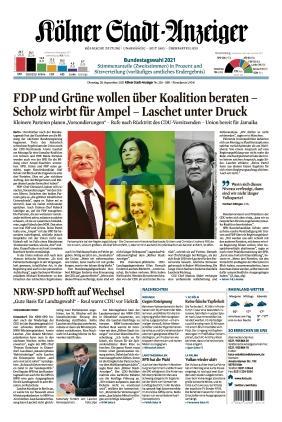Kölner Stadt-Anzeiger (28.09.2021)