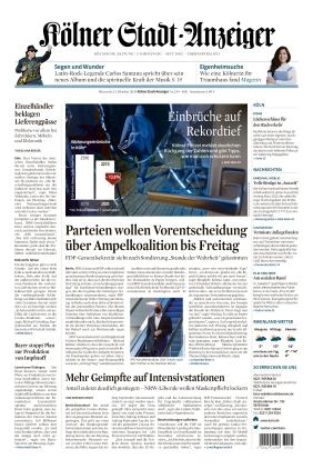 Kölner Stadt-Anzeiger (13.10.2021)