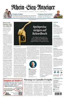 Kölner Stadt-Anzeiger / Rhein-Sieg-Anzeiger (14.10.2021)