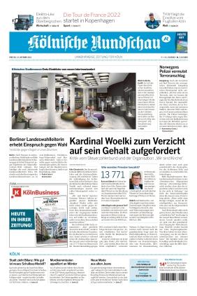 Kölnische Rundschau (15.10.2021)