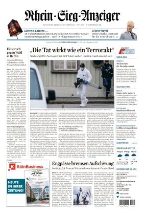 Kölner Stadt-Anzeiger / Rhein-Sieg-Anzeiger (15.10.2021)