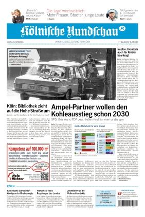 Kölnische Rundschau (16.10.2021)