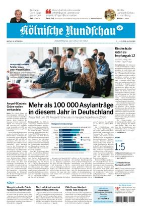 Kölnische Rundschau (18.10.2021)