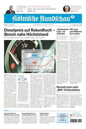 Kölnische Rundschau (19.10.2021)