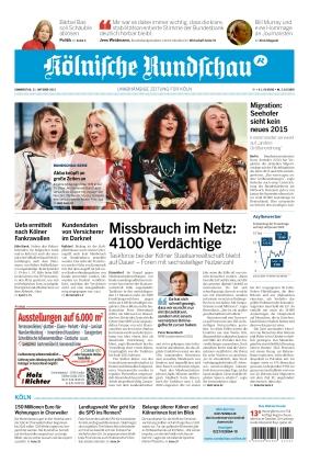 Kölnische Rundschau (21.10.2021)