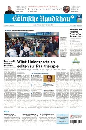 Kölnische Rundschau (22.10.2021)