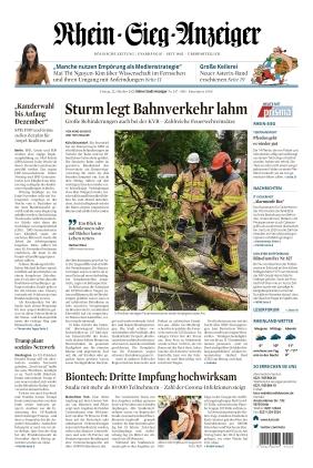 Kölner Stadt-Anzeiger / Rhein-Sieg-Anzeiger (22.10.2021)