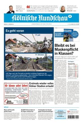 Kölnische Rundschau (23.10.2021)