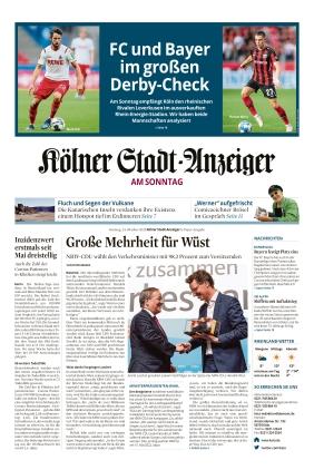 Kölner Stadt-Anzeiger / Rhein-Sieg-Anzeiger (24.10.2021)