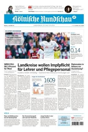 Kölnische Rundschau (25.10.2021)