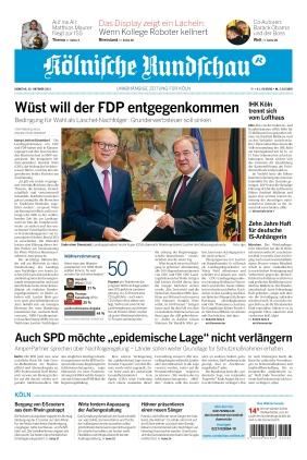 Kölnische Rundschau (26.10.2021)