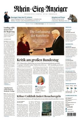 Kölner Stadt-Anzeiger / Rhein-Sieg-Anzeiger (27.10.2021)