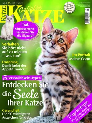 Geliebte Katze (08/2020)