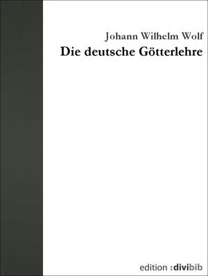 Die deutsche Götterlehre