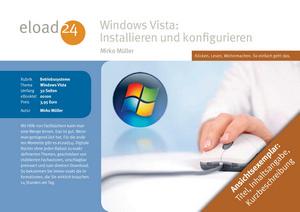 Windows Vista: Installieren und konfigurieren