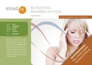 Biorhythmus darstellen mit Excel