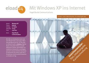 Mit Windows XP ins Internet