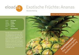Exotische Früchte: Ananas