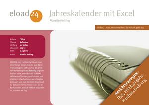 Jahreskalender mit Excel erstellen