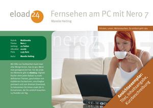 Fernsehen am PC mit Nero 7