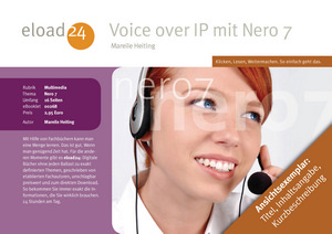 Voice over IP mit Nero 7