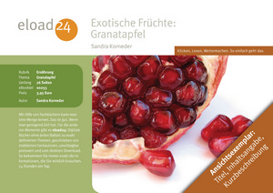 Exotische Früchte: Granatapfel