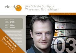 Jörg Schiebs Surftipps: Wissen und Nachschlagen