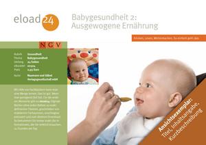 Babygesundheit 2: Ausgewogene Ernährung