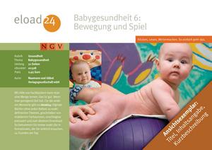 Babygesundheit 6: Bewegung und Spiel