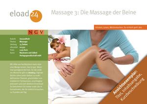 Massage 3: Beinmassage