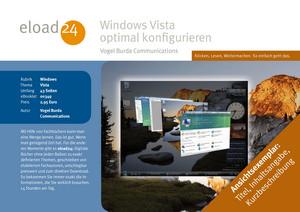 Windows Vista optimal konfigurieren