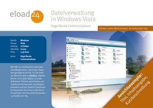 Dateiverwaltung in Windows Vista