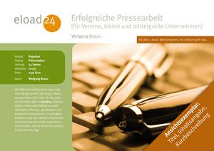 Erfolgreiche Pressearbeit (für Vereine, kleine und mittelgroße Unternehmen)