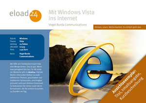 Mit Windows Vista ins Internet