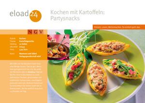 Kochen mit Kartoffeln: Partysnacks
