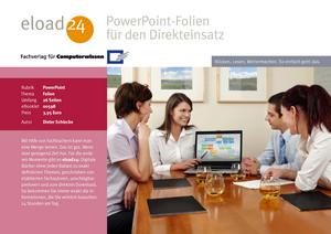 PowerPoint-Folien für den Direkteinsatz
