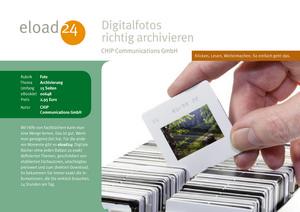Digitalfotos richtig archivieren