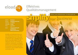 Effektives Qualitätsmanagement