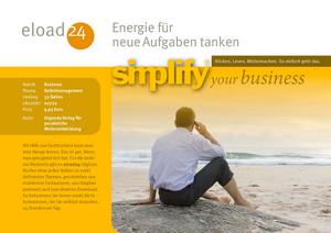Energie für neue Aufgaben tanken